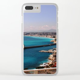 Port of Nice France Clear iPhone Case