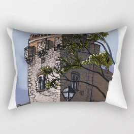 Tower of the palace (color) Rectangular Pillow