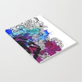 Purple Lion Spirit Notebook