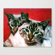 MEOW MIX Canvas Print