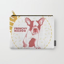 Frenchy Buldog Carry-All Pouch