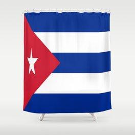 Flag of Cuba ★ Shower Curtain