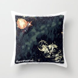 Total Solar Foo'clipse Throw Pillow