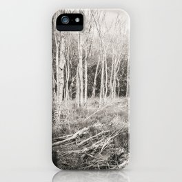 The Lonely Woods iPhone Case