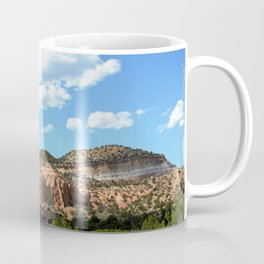 Mesas of New Mexico - Next to the Rock Amphitheater, No. 2 Coffee Mug