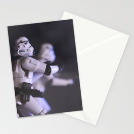 Only Imperial Stormtroopers are so precise Stationery Cards