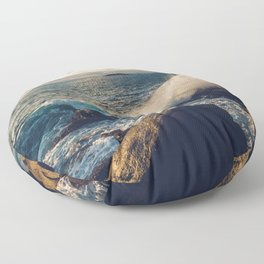 Perfect Wavebreak Floor Pillow