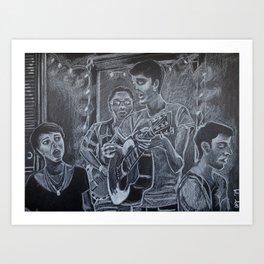 The Friendly Ghost Art Print