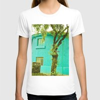 colombia T-shirts featuring COLOMBIA BOGOTA TYPICAL HOUSE by Alejandra Triana Muñoz (Alejandra Sweet