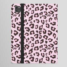 Leopard Print - Pink Chocolate iPad Folio Case
