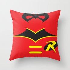Robin the Boy Wonder Throw Pillow