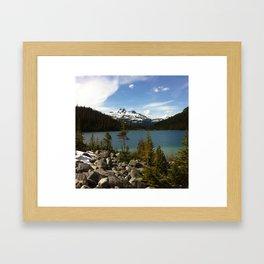 joffre lake Framed Art Print