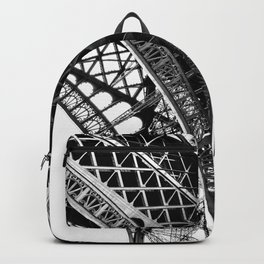 Eiffel Tower Detail Paris Backpack