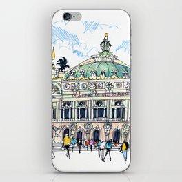 Palais Garnier, Paris iPhone Skin