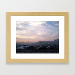 Somewhere Faraway Framed Art Print