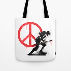 Art is a weapon! Tote Bag