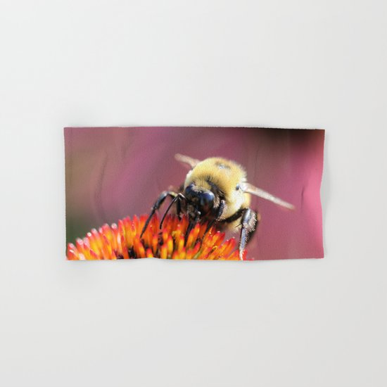 Fuzzy Bumble Hand & Bath Towel