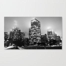 Lights of Los Angeles Canvas Print