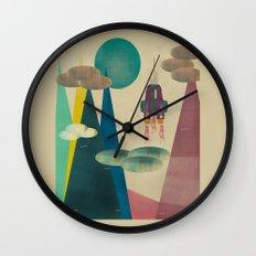 life on mars Wall Clock