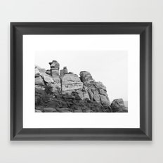 Hidden Valley Guards Framed Art Print