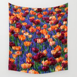 Flowerbed Medley Wall Tapestry