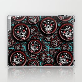 Cute Skull Maori Laptop & iPad Skin