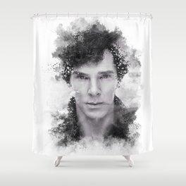 Sherlock Shower Curtain