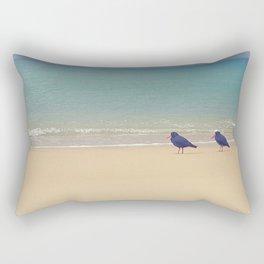 Golden beaches Rectangular Pillow