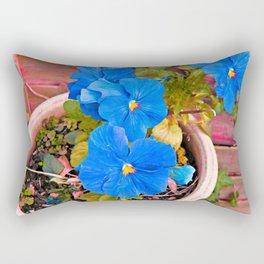 Little Blue Eyes. Rectangular Pillow