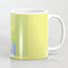 Inching into Creativity Vivid Worm of Creative Juice Coffee Mug