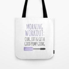 Morning Workout Tote Bag