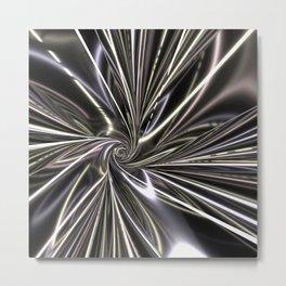 Spiraling Quickly  Metal Print