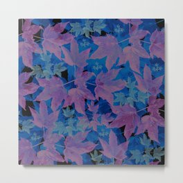 Leaves FG 6 Metal Print
