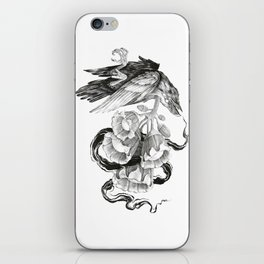 Soul of a Raven iPhone Skin
