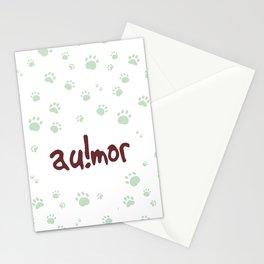 AU!MOR Stationery Cards