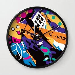 Saint-Exupery Wall Clock