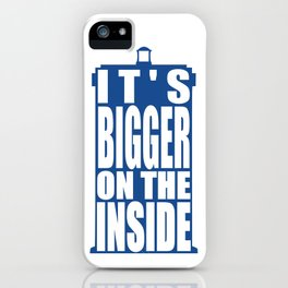 Bigger on the Inside iPhone Case