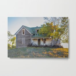 Abandoned Farmstead, North Dakota 5 Metal Print