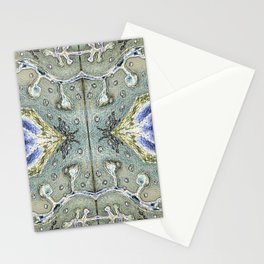 Mirroring Magnification Stationery Cards