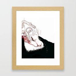 Bewusstsein Framed Art Print