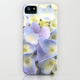 Hydrangea (pale) iPhone Case