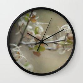 mountain mahogany Wall Clock