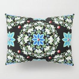 Folkloric Lily Medallion Pillow Sham