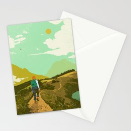 WARM TRAILS Stationery Cards