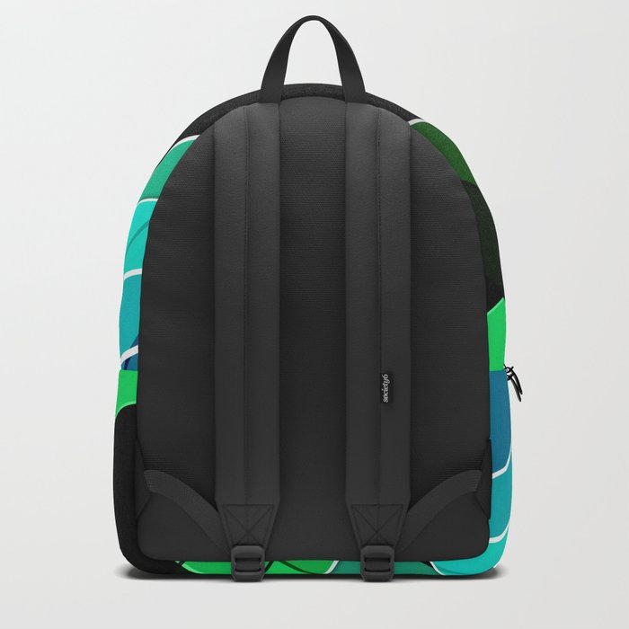Abstract pattern 8 Backpack