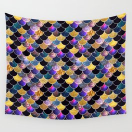 Space Scallops Wall Tapestry