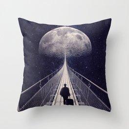Space Trip || Throw Pillow