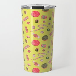 Old Fashioned Boiled Sweets by Chrissy Curtin Travel Mug