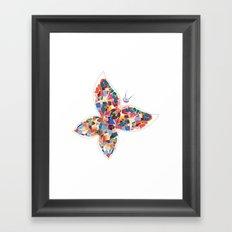 Beautiful Butterfly Framed Art Print