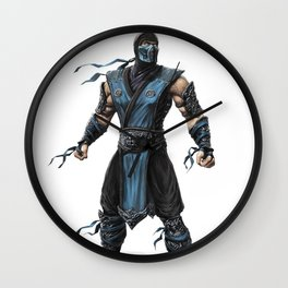 Sub-Zero mk8 game Wall Clock